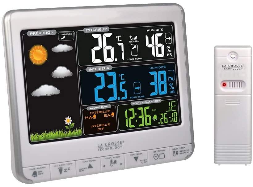 Crosse Technology estacion meteorologica low cost