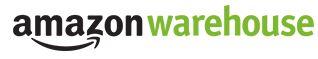 logotipo de amazon ware tienda barata de productos reacondicionados