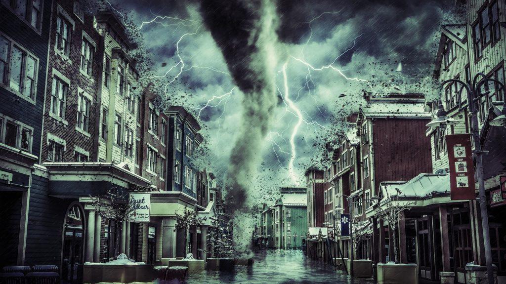 como se produce un tornado