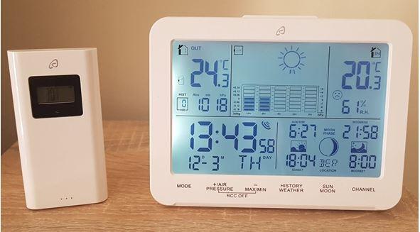 estacion meteorologica auriol instrucciones
