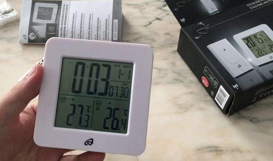 instrucciones estacion meteorologica lidl